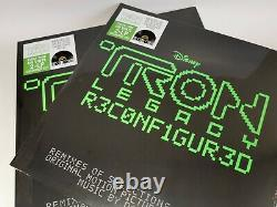 10 pcs Daft Punk Tron Legacy Reconfigured Coloured Double LP RSD 2020 New Sealed