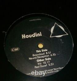 12 inches Vinyl Trance Techno Clasics Fax Houdini Braincloud / Iris / 079