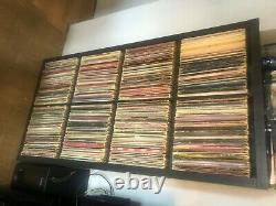 1700 DJ Vintage Vinyl 12 and 7 45's Records, CD's Collection mostly from t80s