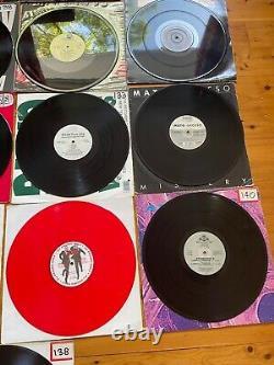 17x 12 Vinyl Record Lot 90s Dance Techno Italian Style DJ Movement ZYX Capella