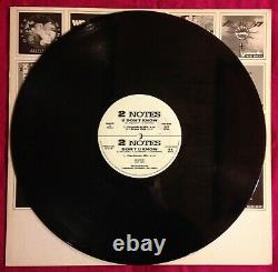 2 NOTES U DON'T KNOW Technology TECHNO 12.112 VINYL 12 ITALY 1991 NM