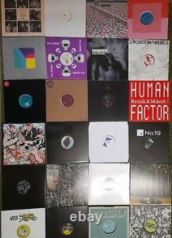 250 X Brand New House, Techno & Disco Vinyls everything pictured