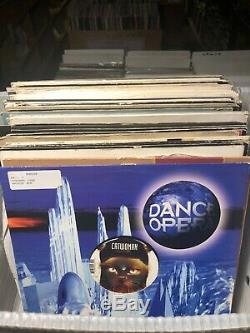 50 DJ VINYL RECORD LOT 10 House Techno Progressive Trance Breaks Electronic