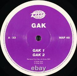 Aphex Twin Gak / Warp Records / Rare 1994 Techno IDM 12 Vinyl Lp