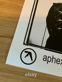 Aphex Twin Rare Press Photo & Info sheet U. S Sire EDM Techno Electronic 1994