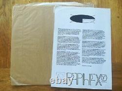 Aphex Twin Rephlex Vinyl Analogue Bubble Bath Vol 3 Brown Bag And Insert