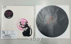 Banksy Radar Rat Dirty Funker Pink Vinyl Album Art Print 1/500 2008
