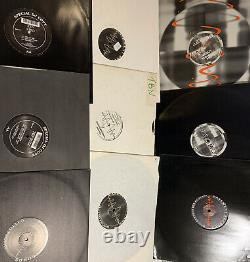 Basement Records X 9 Kev Bird Wax Doctor Top Buzz Hedgehog Affair Jungle Techno