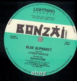 Blue Alphabet Cybertrance Vinyl Single 12inch Bonzai Records