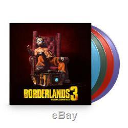 Borderlands 3 Original Soundtrack Exclusive Limited Edition 4x Vinyl LP Box Set