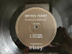 Bryan Ferry Shameless Remixes 12 Vf024 Vinyl Factory 2011 Pilooski Roxy Music