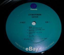 Cybotron Enter Lp Promo Original 1983 Pressing 3070 Juan Atkins Detroit Techno