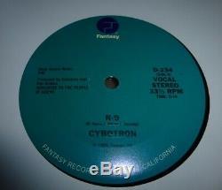 Cybotron R9 1985 Fantasy Records 3070 Juan Atkins Detroit Techno