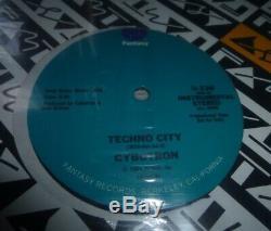 Cybotron Techno City Promo 1984 Fantasy Records 3070 Juan Atkins Detroit Techno
