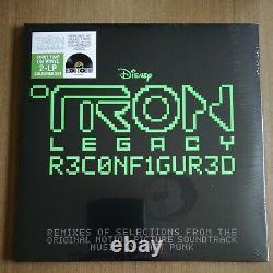 DAFT PUNK TRON Legacy Reconfigured OST RSD 2020 2LP Green Vinyl