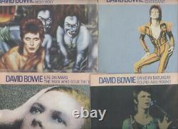 DAVID BOWIE Lifetimes UK Set Lot of 20 Pic Sleeve 45's. NEW