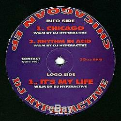 DJ Hyperactive Chicagoan EP Contact 1994 #760353