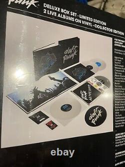 Daft Punk Alive 1997 / Alive 2007 Limited Edition Vinyl Box Set Brand New