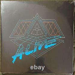 Daft Punk Alive 2007 Vinyl Lp Sealed Eu Pressing Rare In Hand Alive Tour 2007