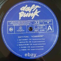 Daft Punk Dbl Vinyl LP Embossed Sleeve Parlophone/Soma UKV2821