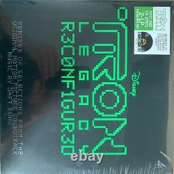 Daft Punk TRON Legacy Reconfigured RSD 2020 2xLP Ltd Edition Green Vinyl SEALED