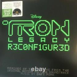 Daft Punk Tron Legacy Reconfigured Green Vinyl Record RSD 2020