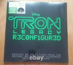 Daft Punk Tron Legacy Reconfigured Ltd Ed Gatefold Translucent Green Dbl Vinyl