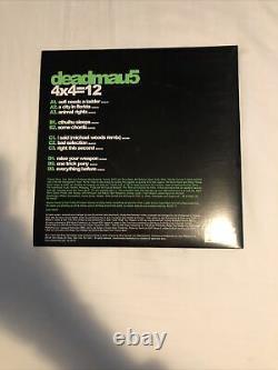 Deadmau5 4x4=12 Vinyl MINT PLAYED ONCE