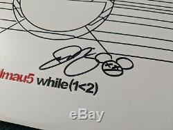 Deadmau5 while(1 2) Signed Vinyl Record