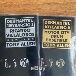 Dekmantel 10 Years 12 Series Vinyl Records Motor City Drum Ensemble Tony Allen