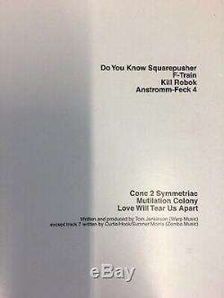 Do You Know Squarepusher Vinyl LP by Squarepusher condition EX/VG+ Original
