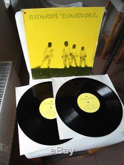 ELECKTROIDS (DREXCIYA) original Vinyl 2LP Elektroworld (1995) WARP RECORDS