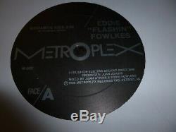 Eddie Fowlkes Goodbye Kiss Metroplex M-006 Juan Atkins Model 500 Detroit Techno