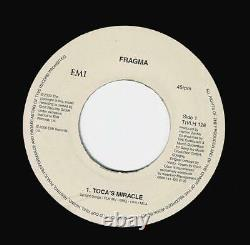 FRAGMA Toca's Miracle Vinyl Record Single 7 Inch EMI 2000 Trance Techno & House