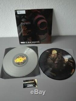 FRONT LINE ASSEMBLY limited 250 clear frosted+ Picture Vinyl 2LP Airmech (2014)