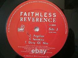 Faithless Reverence Vinyl Record LP Cheeky 1996 Rare Album Salva Mea Insomnia