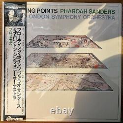 Floating Points & Pharoah Sanders Promises Japan Exclusive Vinyl Record LP OBI