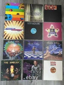 German House Techno Vinyl Records LPs X 12 90s Pressings DJ Hell Sven Vath Rare