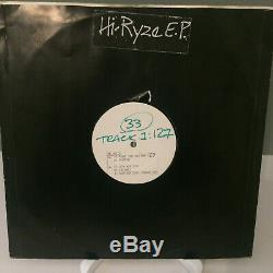 Hi-Ryze Hi-Ryze EP Classic Techno V. Rare 1990 UK Vinyl Promo Braink 07 VG+