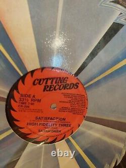 Hip Hop/RnB/ Dance/Techno Vinyl Lot of (80) Records DJ Collection 80s 90s 00s