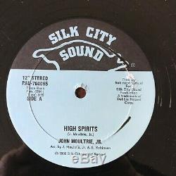 JOHN MOULTRIE JR High Spirits 12 mega rare modern soul- boogie SILK CITY