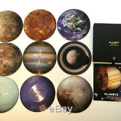Jeff Mills Planets 9 x 7 PICTURE DISC Vinyl 45 Singles LIMITED Techno Box Set