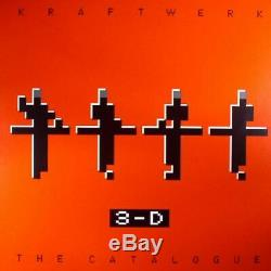 KRAFTWERK 3D The Catalogue Vinyl (9xLP box set + MP3 download code)