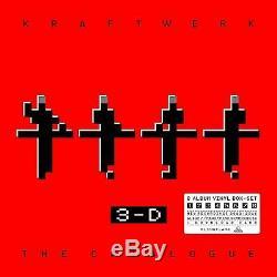 KRAFTWERK LP x 9 3-D The Catalogue NEW Vinyl 9 Album SET 2017 SEALED IN STOCK