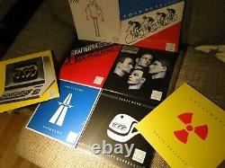 KRAFTWERK komplett farbige 8 x Vinyl LP coloured english version mix, techno pop