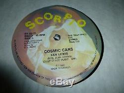 Ken Lewis / D. K. Gang / JUAN ATKINS CYBOTRON COSMIC CARS DETROIT TECHNO