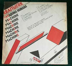 Kraftwerk La Maquina Humana (The Man Machine) 1978 ARGENTINA (Techno devo TV)