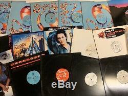 LOT 4000+ 12 LPs RAP DANCE TECHNO HOUSE FUNK DJ RECORD COLLECTION