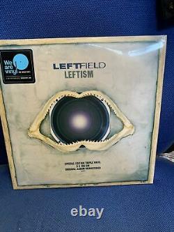 Leftfield Leftism 3 x 180g Vinyl SEALED RARE. 2017