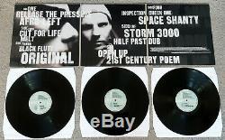Leftfield Leftism Original 1995 Hard Hands Triple Vinyl Pressing, VG+